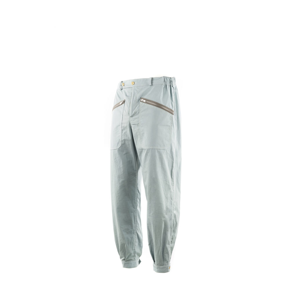 Chiron Pants - Cotton poplin - Light blue color