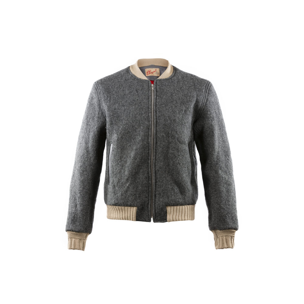 Queens Jacket - Merino wool - Anthracite color