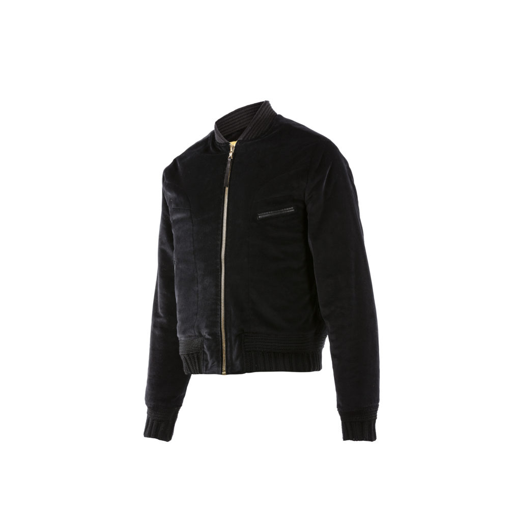 Queens Jacket - Velvet - Black color
