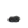 Travel Bag Mini - Glossy leather - Black color
