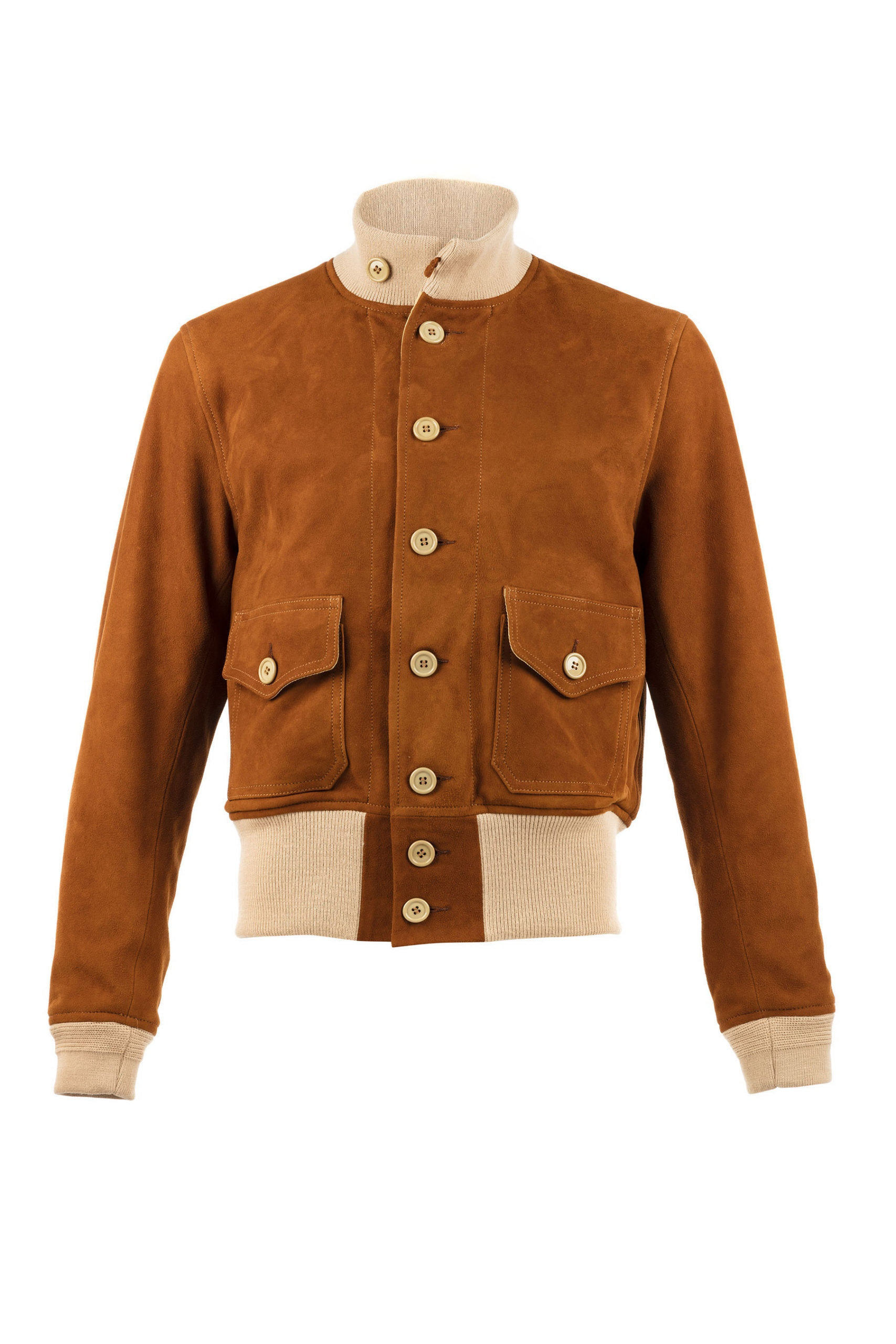 A1 Jacket - Suede leather - Suzy color