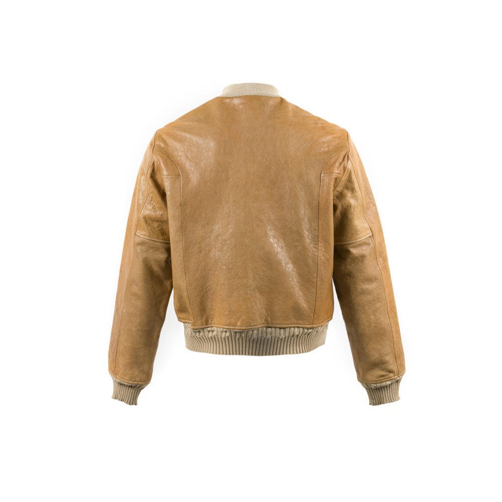Brooklyn One Jacket - Vegetable leather - Tan color