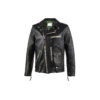 BB Nick Fouquet Jacket - Glossy leather - Black color