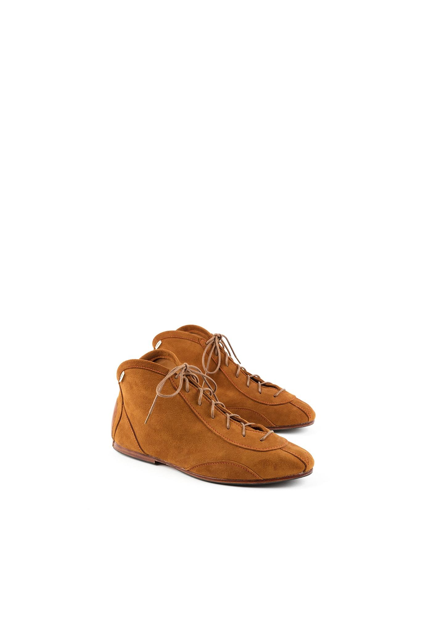 Home page - Pilot 60's Shoes - Suede leather - Suzy color