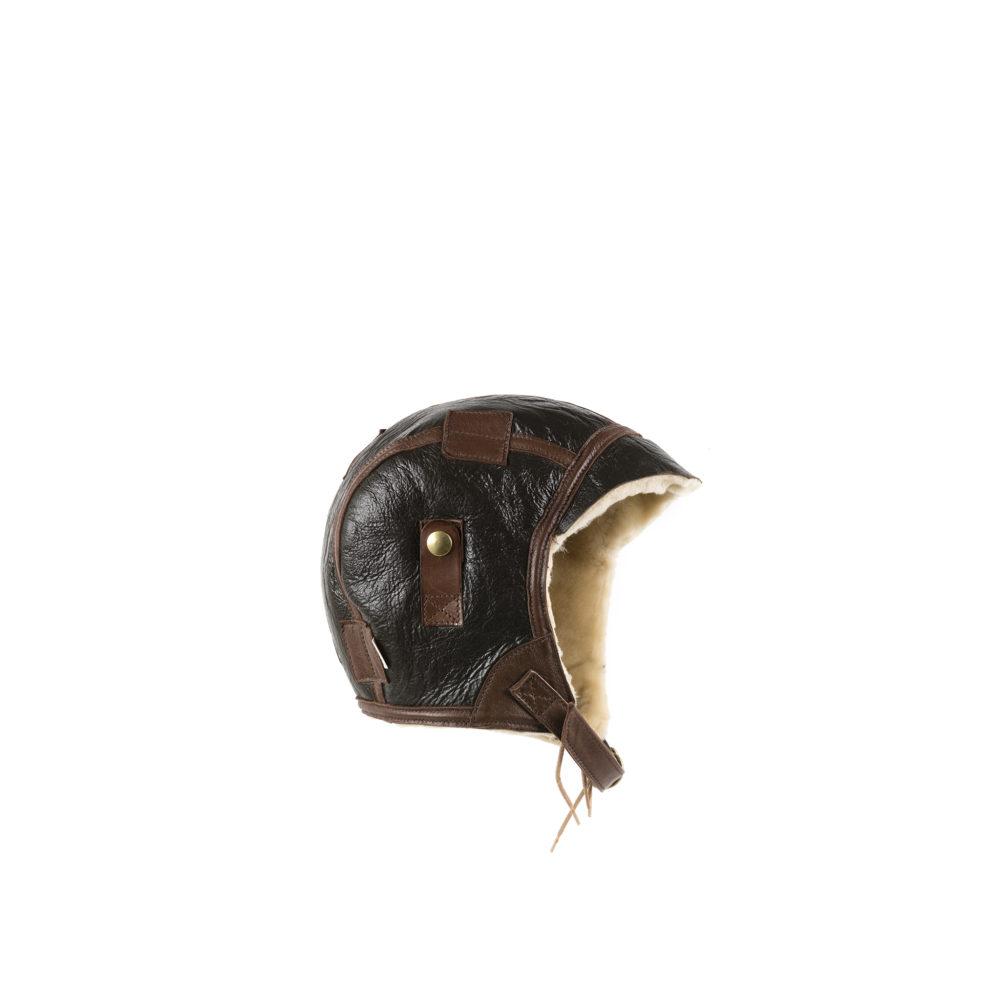 US Helmet Type B5 - Varnished shearling
