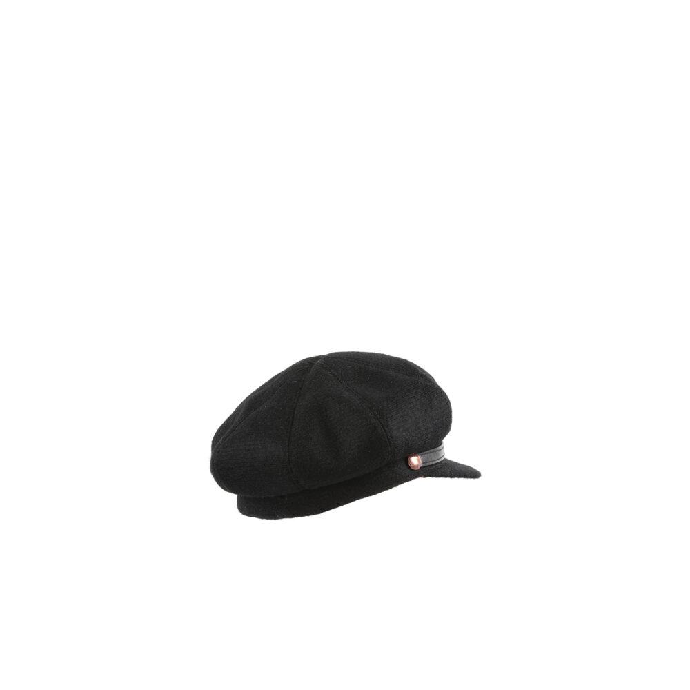 Casquette - Laine Mérinos - Couleur noire