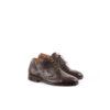 Chaussures Simone Derby - Cuir glacé - Couleur brun
