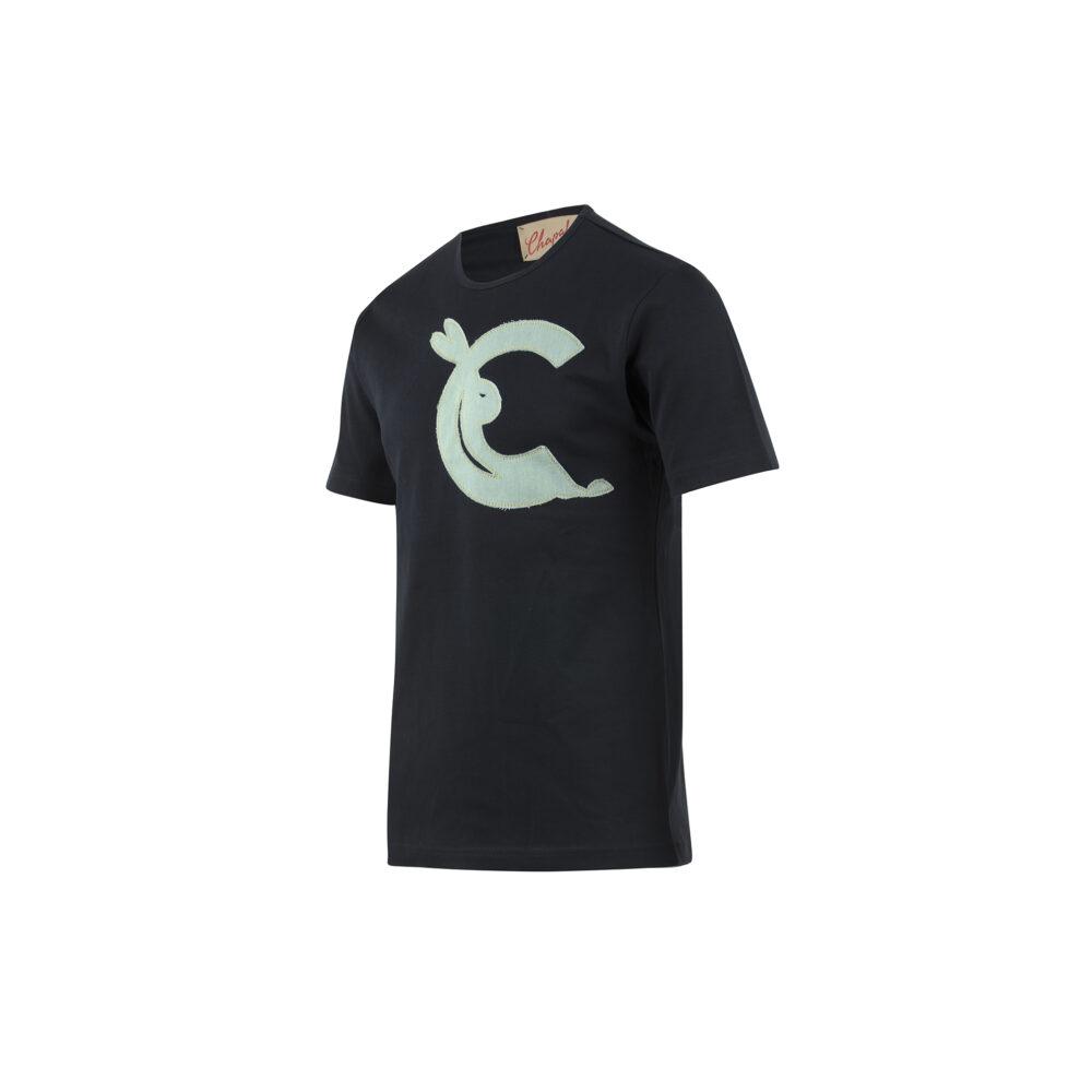 T-shirt Clair de Lune - Jersey de coton - Couleur noire